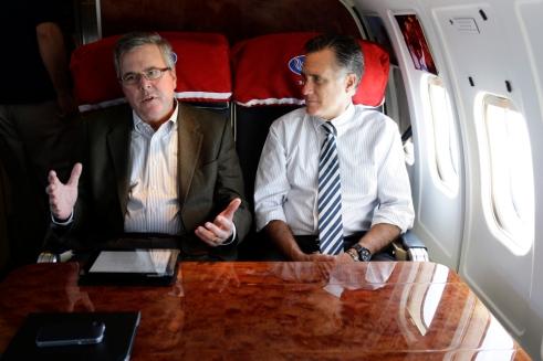 Bush and Romney Together